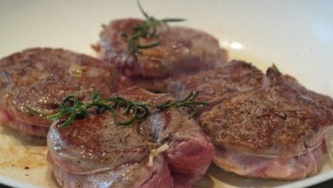 Leckeres Filetsteak